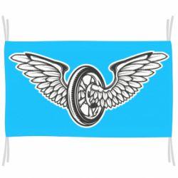 Прапор Колесо та крила
