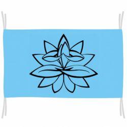 Прапор Lotus yoga