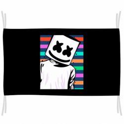 Флаг Marshmello Colorful Portrait