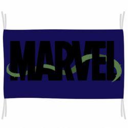 Флаг Marvel logo and vine