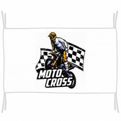 Флаг Motocross