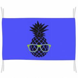 Флаг Pineapple with glasses
