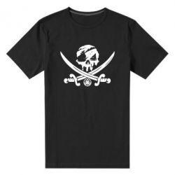 Чоловіча стрейчева футболка Flag pirate