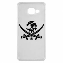 Чохол для Samsung A3 2016 Flag pirate
