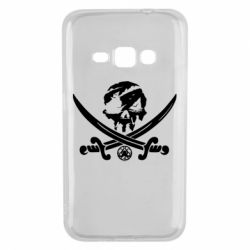 Чохол для Samsung J1 2016 Flag pirate