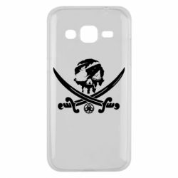 Чохол для Samsung J2 2015 Flag pirate