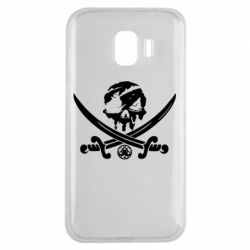 Чохол для Samsung J2 2018 Flag pirate