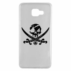 Чохол для Samsung A7 2016 Flag pirate