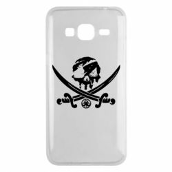 Чохол для Samsung J3 2016 Flag pirate