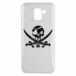 Чохол для Samsung J6 Flag pirate
