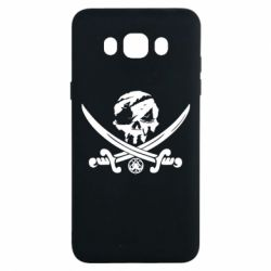 Чохол для Samsung J7 2016 Flag pirate