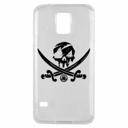 Чохол для Samsung S5 Flag pirate