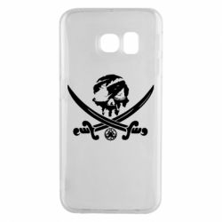 Чохол для Samsung S6 EDGE Flag pirate