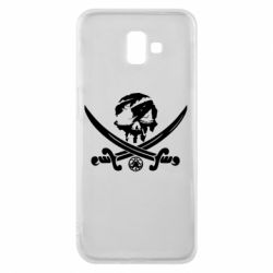 Чохол для Samsung J6 Plus 2018 Flag pirate