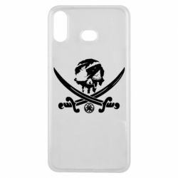 Чохол для Samsung A6s Flag pirate