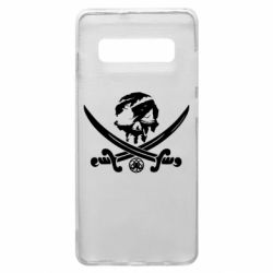 Чохол для Samsung S10+ Flag pirate