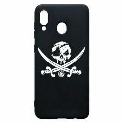 Чохол для Samsung A20 Flag pirate