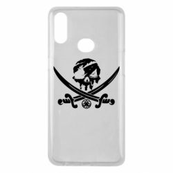 Чохол для Samsung A10s Flag pirate