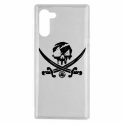 Чохол для Samsung Note 10 Flag pirate