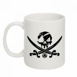 Кружка 320ml Flag pirate