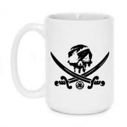 Кружка 420ml Flag pirate