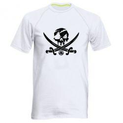 Чоловіча спортивна футболка Flag pirate