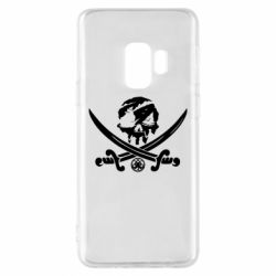 Чохол для Samsung S9 Flag pirate