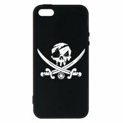 Чохол для iphone 5/5S/SE Flag pirate
