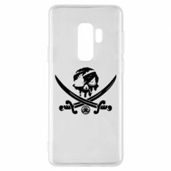 Чохол для Samsung S9+ Flag pirate