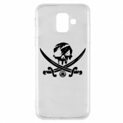 Чохол для Samsung A6 2018 Flag pirate