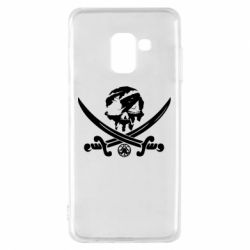 Чохол для Samsung A8 2018 Flag pirate