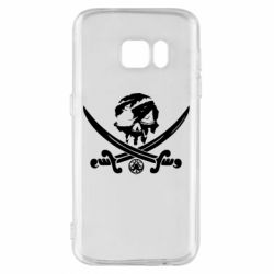 Чохол для Samsung S7 Flag pirate