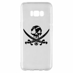 Чохол для Samsung S8+ Flag pirate