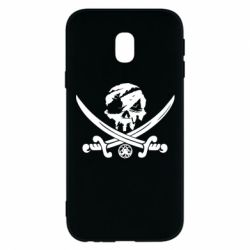 Чохол для Samsung J3 2017 Flag pirate