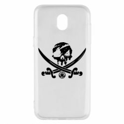 Чохол для Samsung J5 2017 Flag pirate