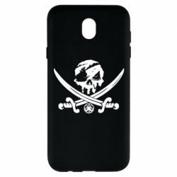 Чохол для Samsung J7 2017 Flag pirate