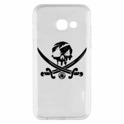 Чохол для Samsung A3 2017 Flag pirate