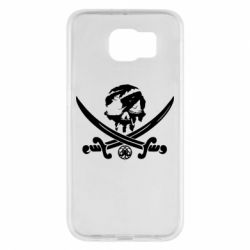 Чохол для Samsung S6 Flag pirate