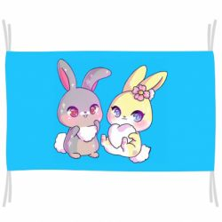 Прапор Rabbits In Love