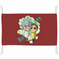 Прапор Rick and Morty voodoo doll
