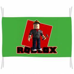 Флаг Roblox Builderman
