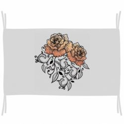 Прапор Roses with patterns