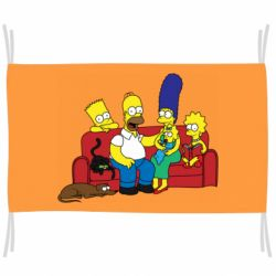 Флаг Simpsons At Home