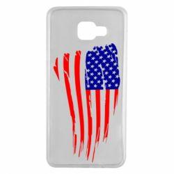 Чохол для Samsung A7 2016 Прапор США