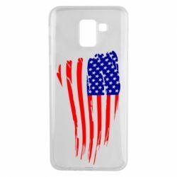Чохол для Samsung J6 Прапор США