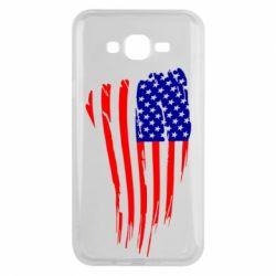 Чохол для Samsung J7 2015 Прапор США