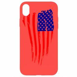 Чохол для iPhone XR Прапор США