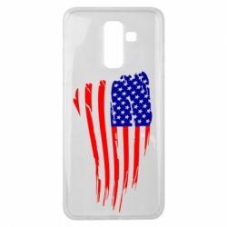 Чохол для Samsung J8 2018 Прапор США