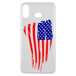 Чохол для Samsung A6s Прапор США