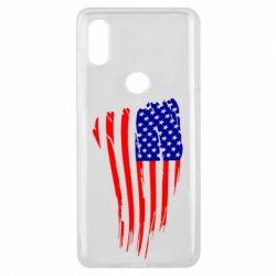 Чехол для Xiaomi Mi Mix 3 Флаг США